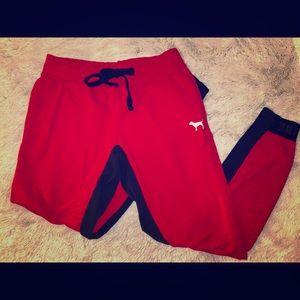 VS PINK Collegiate Skinny Sweatpants